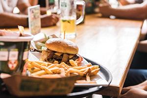 QS burger