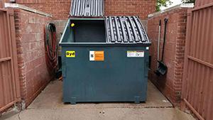 Enevo dumpster