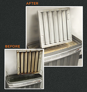 Soak Tank Systems Before and After Image