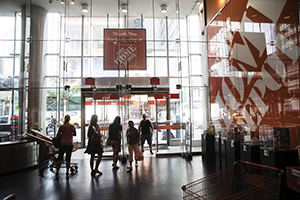 Home Depot store interior