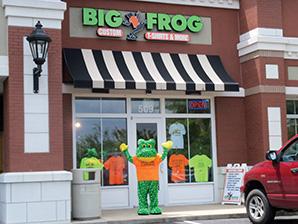 BF Murfreesboro storerfront with mascot