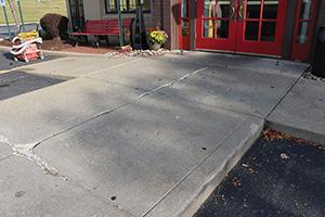 Concrete Resurfacing BEFORE