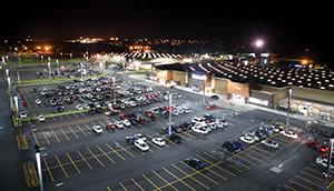led parking lot