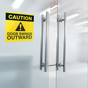 Avery Outward Door sign