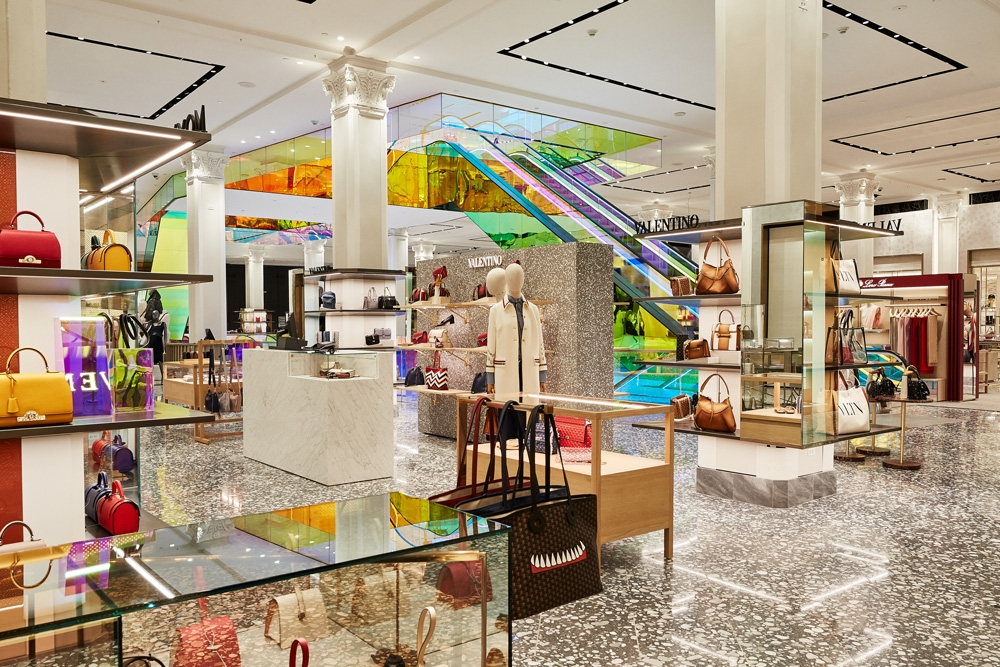 d7154312a64 Saks Fifth Avenue Debuts New Main Floor of Manhattan Flagship Store ...