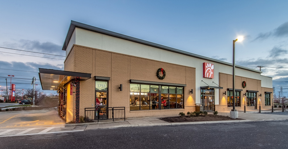 Frontier Building Completes First Chick Fil A In Prince