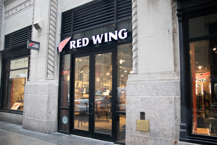 639b51de6b30f4 Red Wing Shoe Company Opens First Flagship Store in New York City ...
