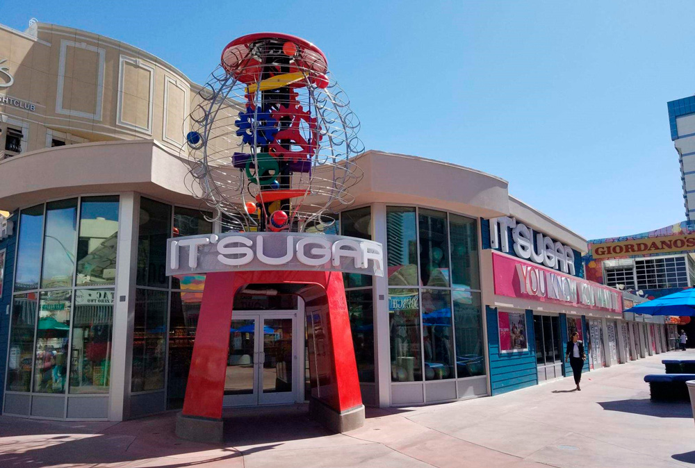 Stores on the strip